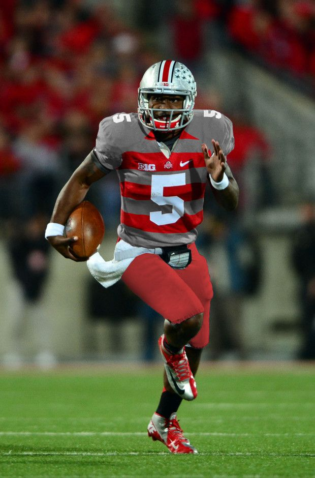 Ohio State Buckeyes football uniforms