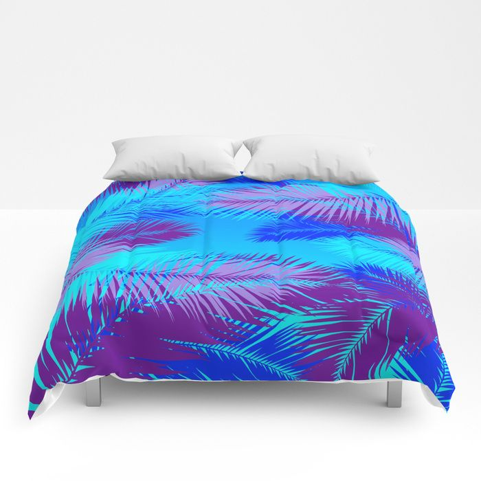 30% Off Everything - Free Shipping On Most Items With Code GIFTIT - Ends Tonight at Midnight PT.  Tropic island by Scar Design Comforter #tropical #palm #leaf #summer #fun #discount #sales #save #gifts #duvetcover #comforter #quilt #family #online #shopping #freeshipping #megadeals  #home #homegifts #homedecor #art #design #society6 #xmasgifts #christmasgifts #giftsforhim #giftsforher #fashion #style