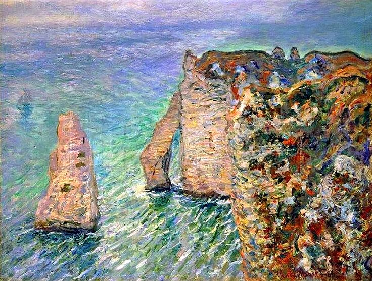 Claude Monet 1886 The Rock Needle and the Porte d'Aval