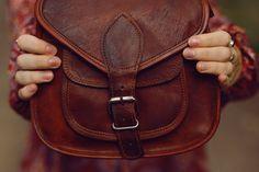 """Romy"" Handtasche Gusti Leder Nature Tasche Ledertasche Vintage"
