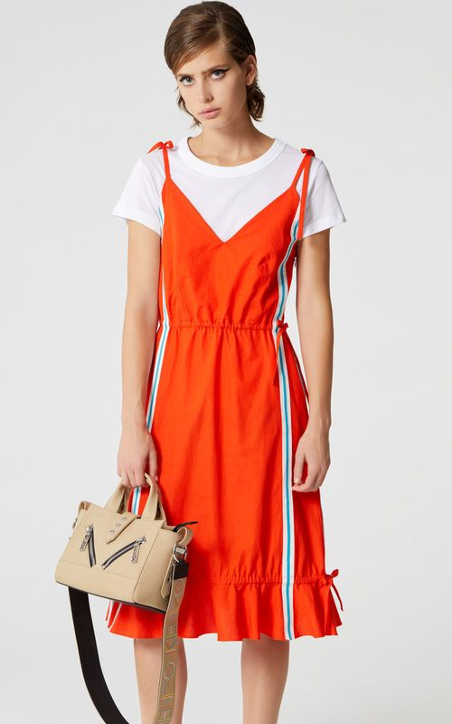 109d9e0a66 MEDIUM RED 'High Summer Capsule Collection' dress for women KENZO ...