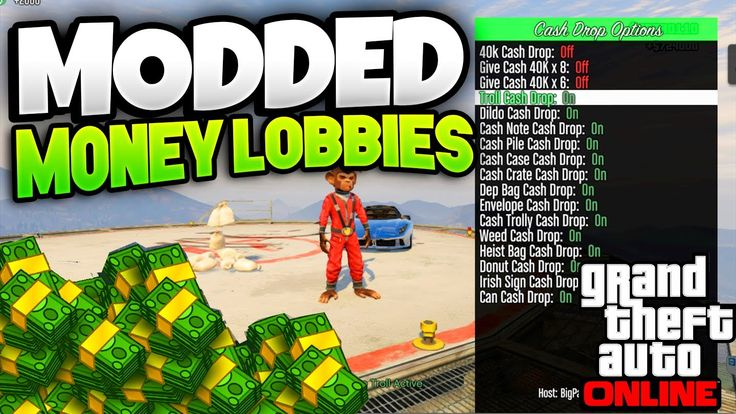 GTA 5: MONEY LOBBY GLITCH 1.35/1.28: ''MODDED MONEY CASH LOBBY!'' 1.35 (...