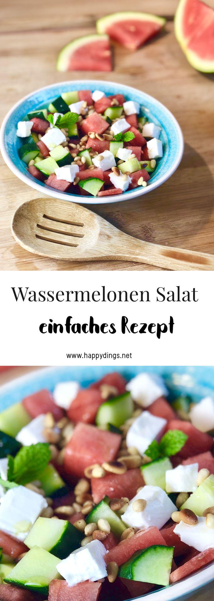 Wassermelonen Salat selber machen – Rezepte für den Sommer