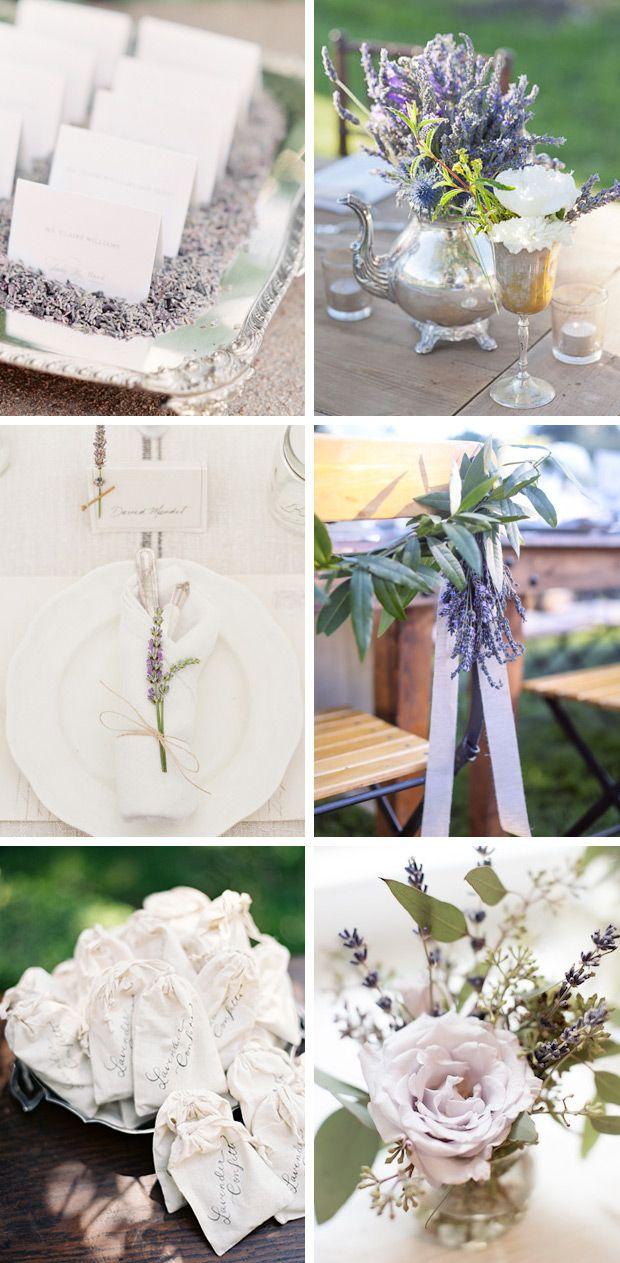 Lavender Wedding Ideas, Decor, Cakes & Favours | www.onefabday.com