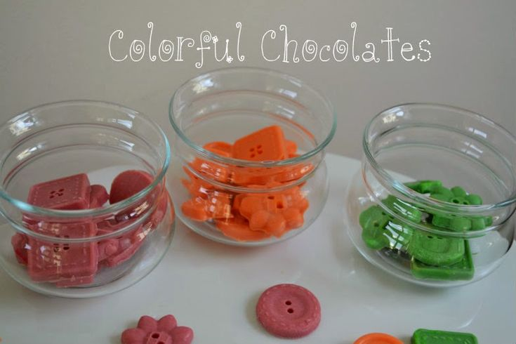 Ανοιξιάτικα Πολύχρωμα Σοκολατάκια - Spring Colorful Chocolates