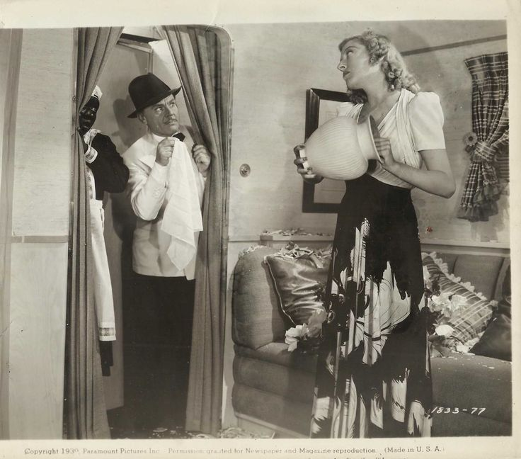 "MARTHA RAYE & CHARLES RUGGLES in ""The Farmers Daughter&"
