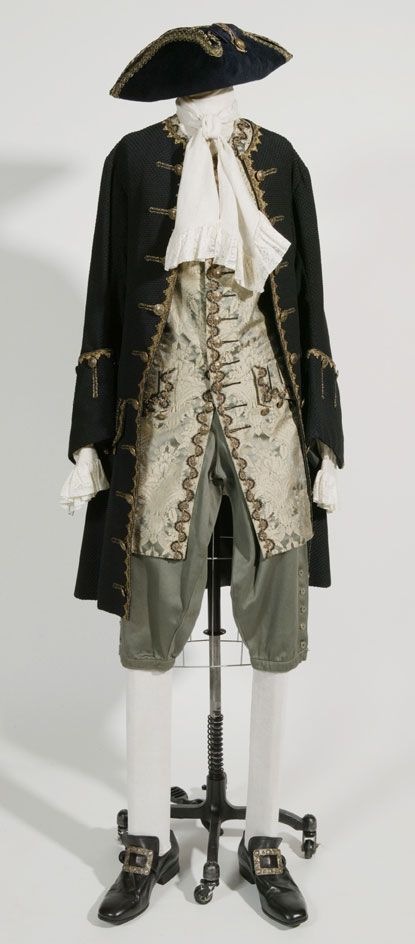 Gentleman, Pirate, Sea Captain Gear.  http://www.costumersguide.com/potc2/willwedding1.jpg