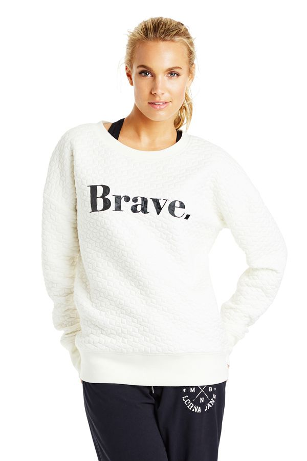 Brave Quilted Sweat | Leisure & Travel | Activities | Styles | Shop | Categories | Lorna Jane Site