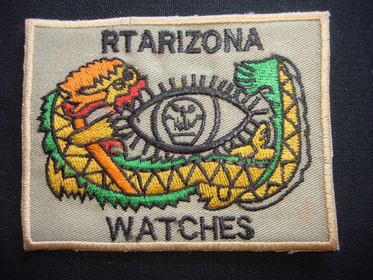 """Vietnam War Patch 5th Special Forces Group MACV-SOG RT ARIZONA CCC """"WATCHES"""""""