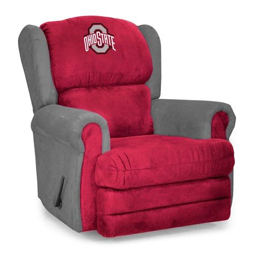 Ohio State University Microfiber Coach Recliner