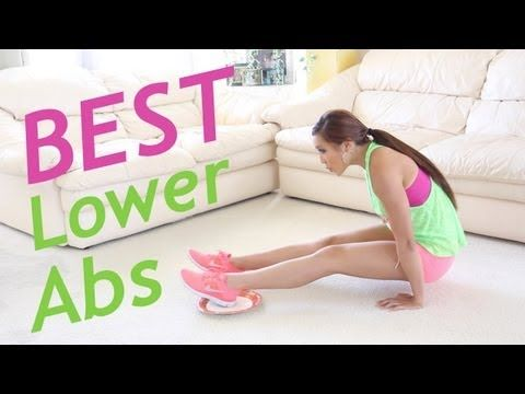 Flatten your lower abs with these moves