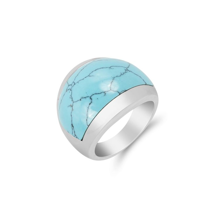 Zenith Turquoise Ring — Vinci Collections