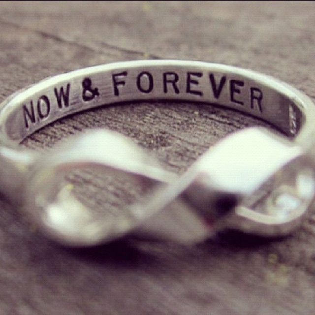 Now and forever(:: Ideas, Fashion, Buckets Lists, Stuff, Style, Jewelry, Infinity Rings, Promi Rings, Promise Rings