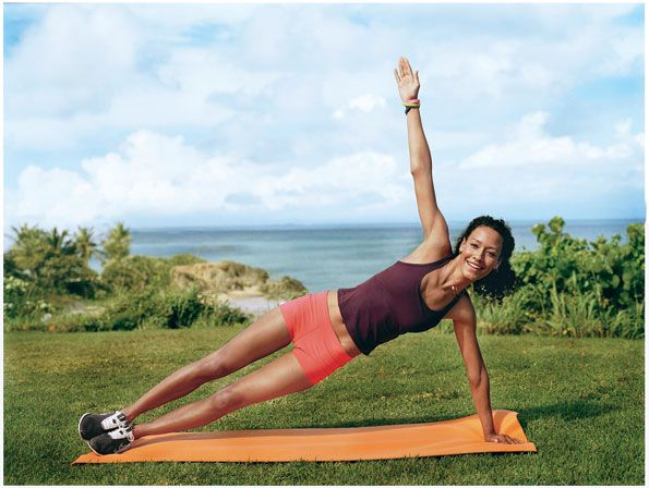 Take Your Om Outside With Outdoor Yoga. Quick tip: swap your mat for a towel or blanket #SelfMagazine
