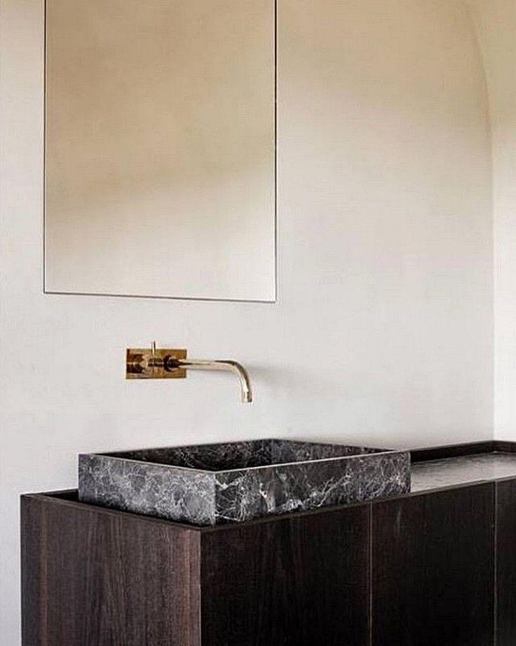 Modern Minimalist Bathroom Mirror: Best 25+ Minimalist Bathroom Design Ideas On Pinterest