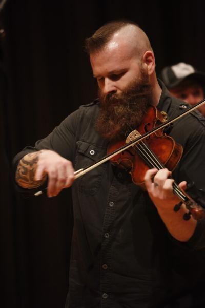 2013 Louisiana State Fiddle Champion, Thomas Jenkins; photo by Peter Jones