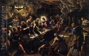 The Last Supper 1592-94  by Jacopo Tintoretto (Robusti)