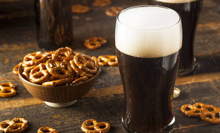 How to drink dark beer
