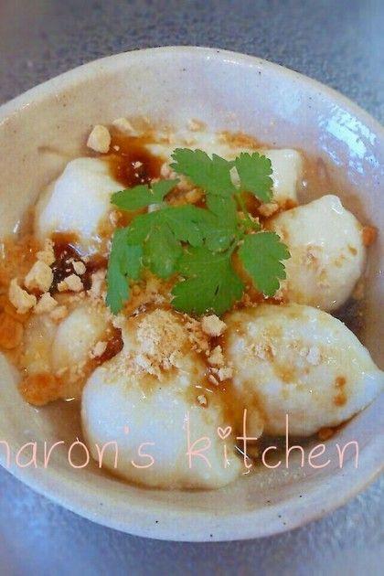 片栗粉で☆豆腐わらびもち♪♪ by ♪♪maron♪♪ [クックパッド] 簡単おいしいみんなのレシピが214万品