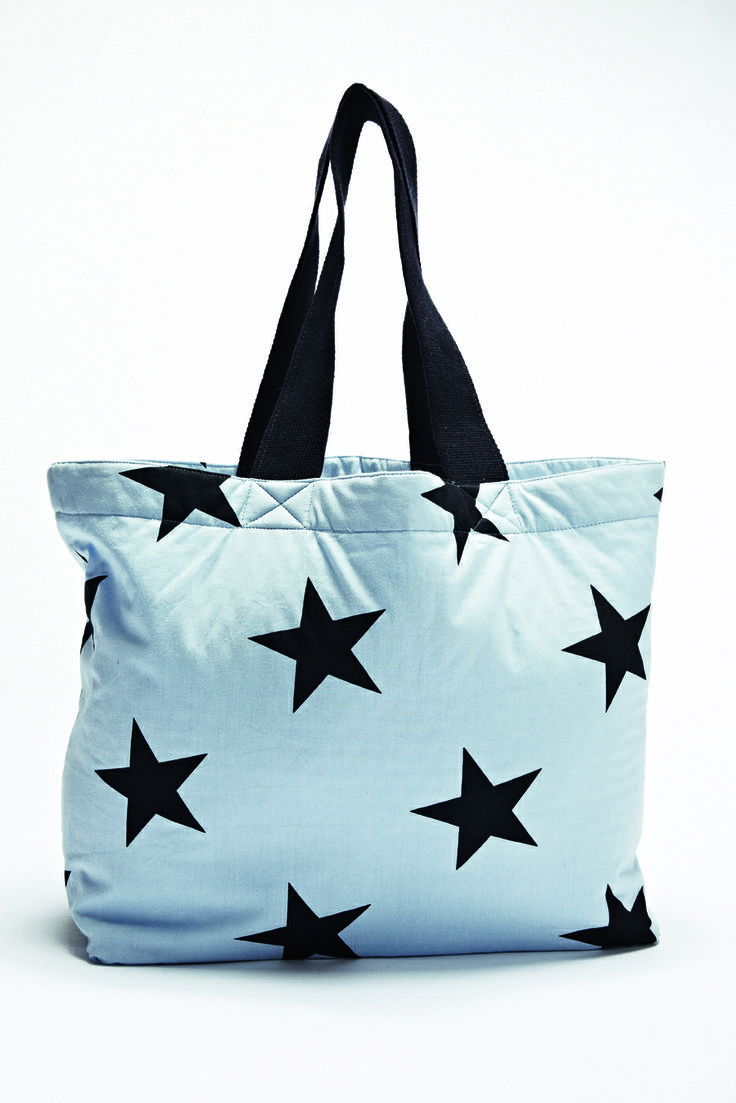 Stars , wherever you look. Florence Design beach bags <3