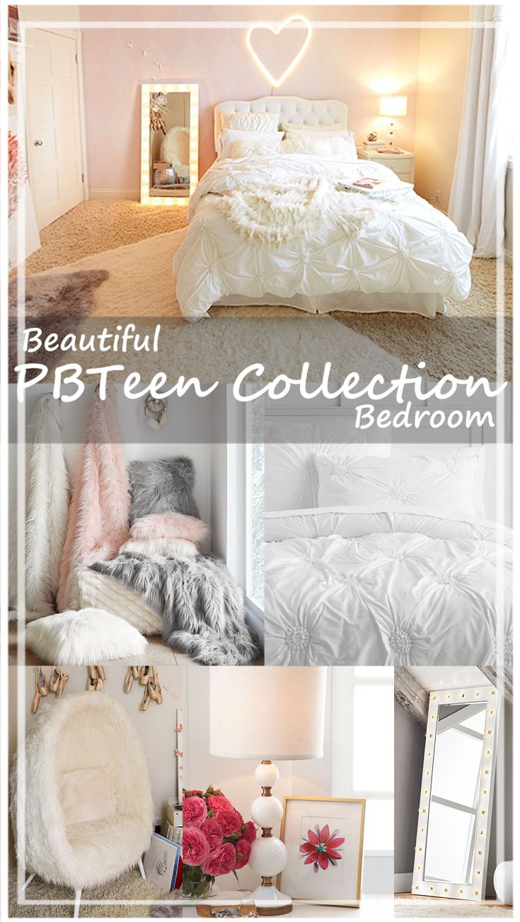 White Makes Everything Look Clean And Elegant. Who Wouldnu0027t Want To Add A  Fuzzy Pink Or Grey Throw Blanket To Their Room, Or A Faux Fur Chair?