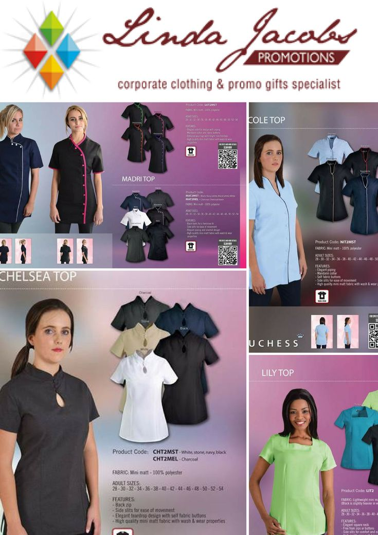 Real Value - Beauty tops 👕Chelsea Top 👕Nicole Top 👕Lucy Top 👕Lily Top For more info - See more products on our website - http://www.lindajacobspromotions.co.za/ Email: linda@lindajacobspromotions.co.za Call us - 083 6280181 | 021 5572152
