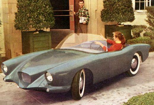 """1953 Dyna-Panhard Sports Car – Designed by Howard """"Dutch"""" Darrin"""