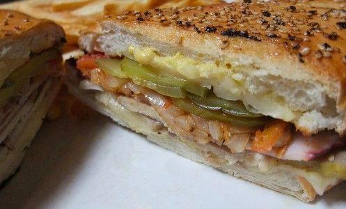 Receta Sandwich cubano