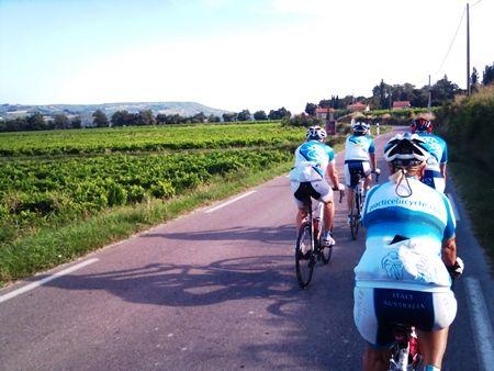 Provence Cycling Tours, May-September 2015, Haute-Vaucluse Region of Provence-Alpes-Côte d'Azur, Seguret, Mt Ventoux, Rhone Valley Wines
