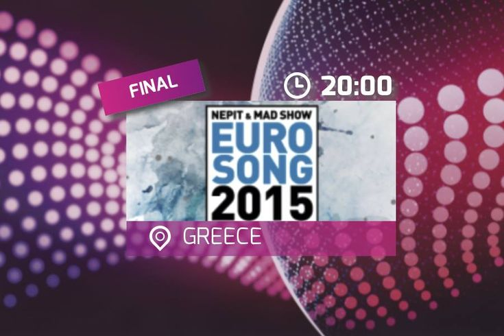 Tonight: Greece's Eurosong 2015 live stream at 20:00 CET