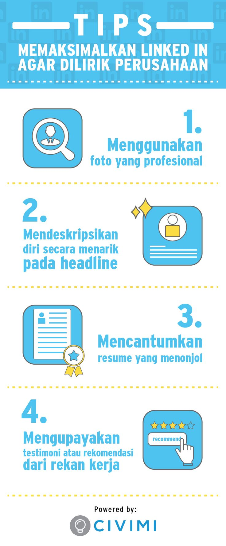 LinkedIn Tips for job seeker. Just Check it out!