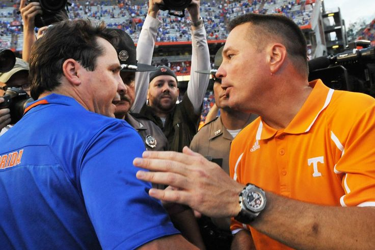 Will Muschamp is 5-0 against Tennessee and 17-22 against the rest of the SEC