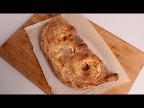 Homemade Calzone Recipe - Laura Vitale - Laura in the Kitchen