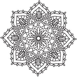 Coloring For Grown Ups Pinterest Coloring Awesome And Mandalas