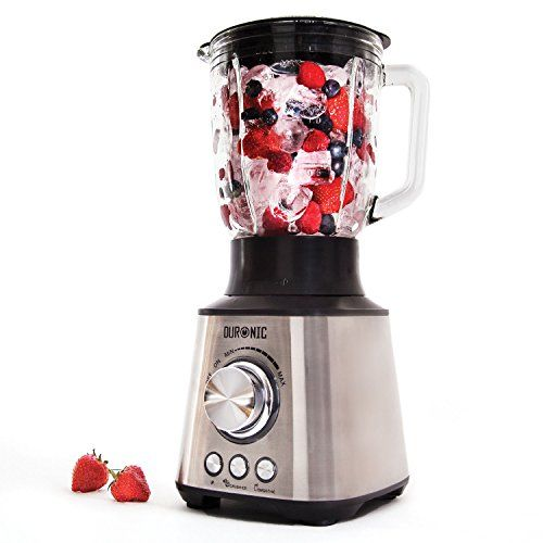 Duronic BL10 Stainless Steel Body Powerful 1000W Table Blender - 1.5L Glass Jug Duronic http://www.amazon.co.uk/dp/B00QCDPAS6/ref=cm_sw_r_pi_dp_KYzEvb0CS8313