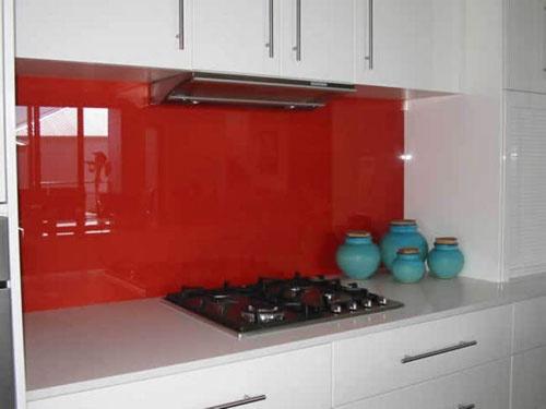 25 Best Ideas About Kitchen Glass Splashbacks On