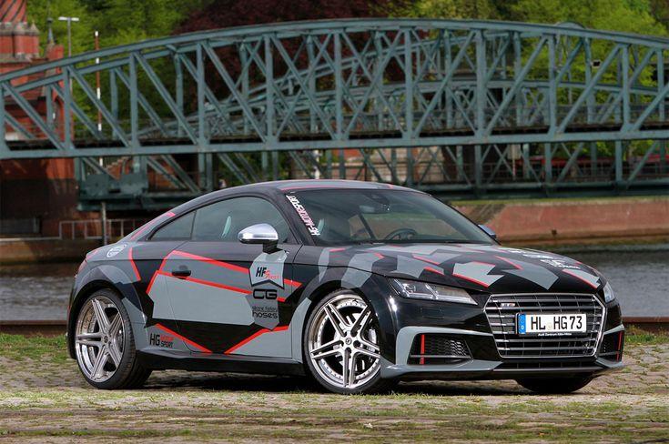 Il tuner tedesco ha presentato l'Audi TTS by HG-Motorsport, che guadagna un motore più performante e dei cerchi in lega dedicati