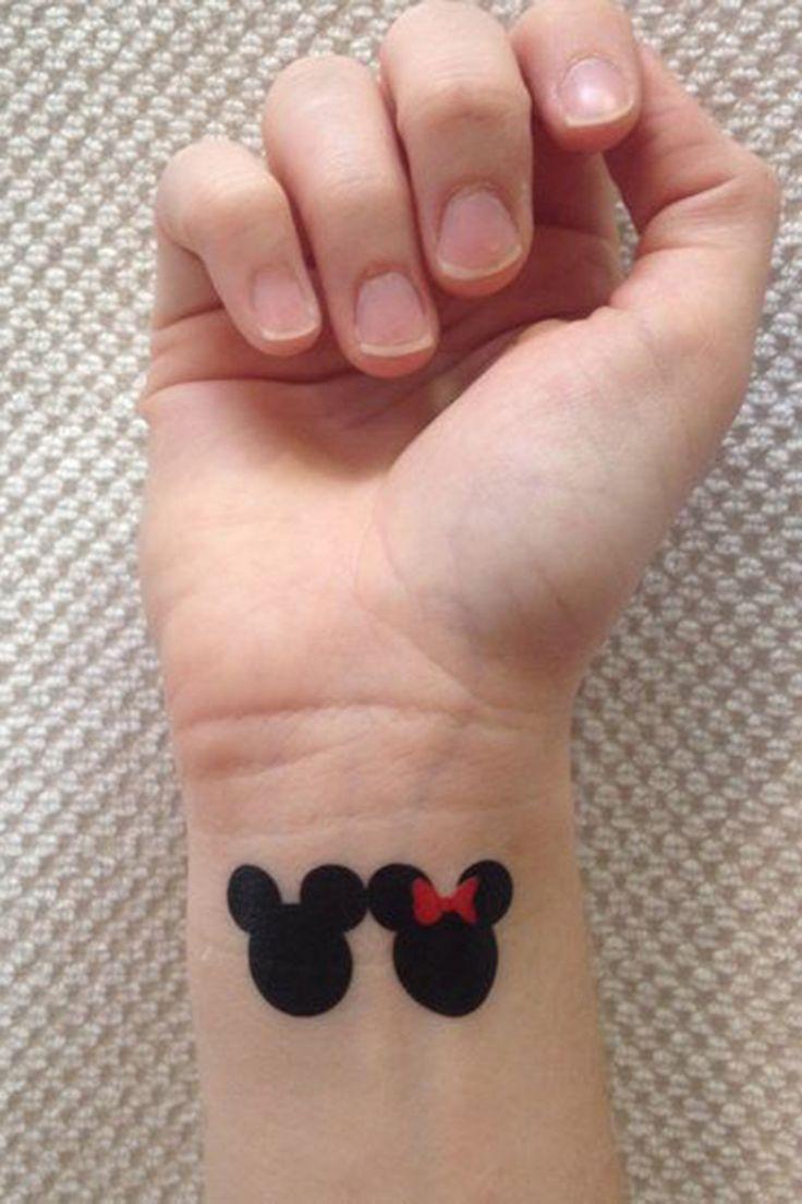 Mickey & Minnie Temporary Tattoos (3-pack)