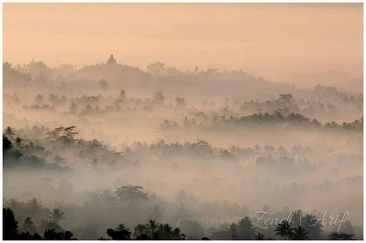 Borobudur via Punthuk Setumbu