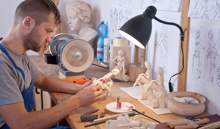 From a ZBrush model to a wood sculpture
