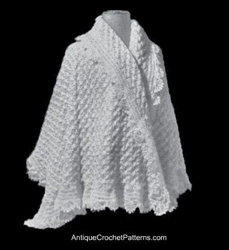 Free Crochet Pattern For Shawl With Sleeves : 134 best images about Free Crochet Shawl/Wrap Patterns. on ...