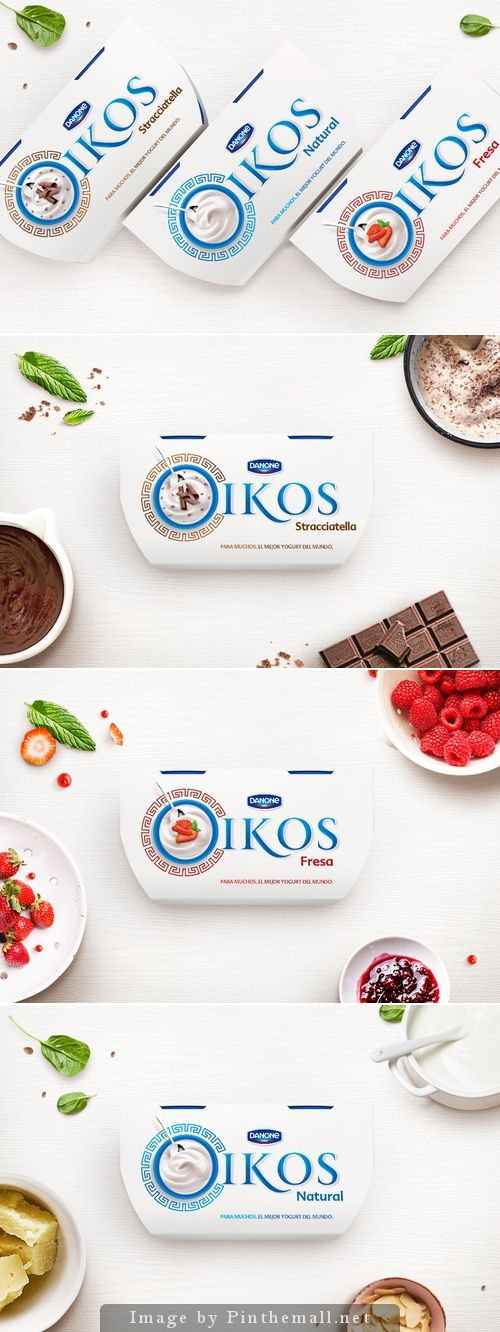 STUDENT: Danone Greek Yogurt Designed by: Diego Frayle  School: Master of Packaging Design in Elisava School  Country: Spain  City: Barcelona   Co-designer: Maria Andrea Galindo