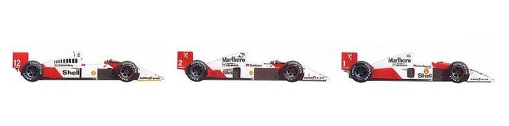 Ayrton Senna 1988, 1990, 1991
