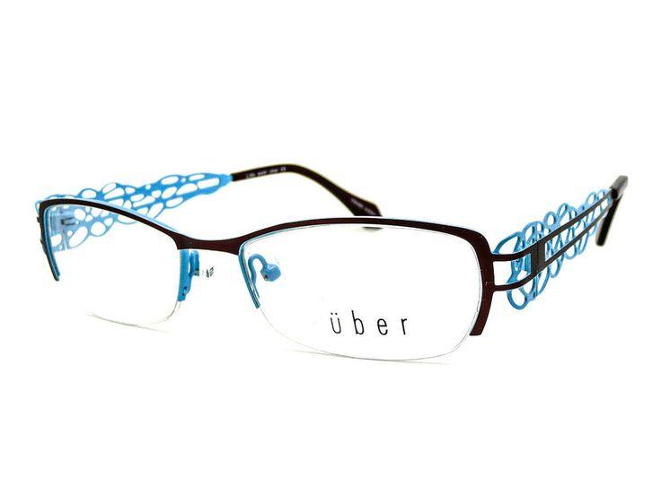 new uber lava brown blue s square metal semi