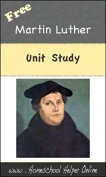 Homeschool Helper Online's Martin Luther Unit Study