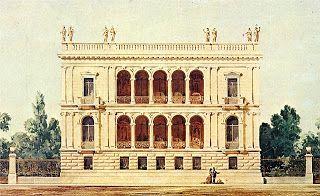 ΙΛΙΟΥ ΜΕΛΑΘΡΟΝ. Αρχιτέκτων Ernst Moritz Theodor Ziller. Οικία του Heinrich Schliemann. (1878-1926). Από το 1998 στεγάζει το Νομισματικό μουσείο.