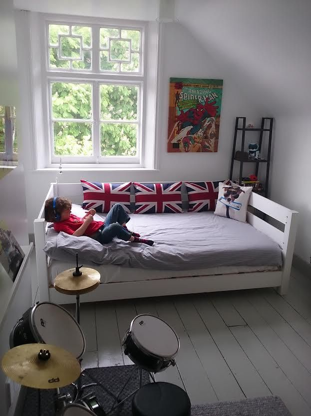 We this our Modern Day Bed Frame looks fantastic in this room! The bed frame…