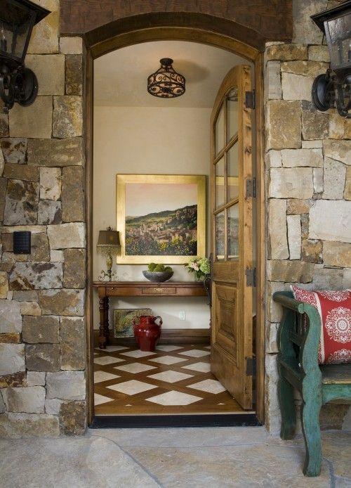 255 best images about wood and tile on pinterest kitchen for Basement entrance design