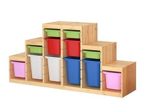 Serie Trofast, contenitori per giocattoli