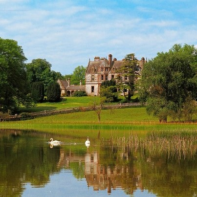 This is the Castle Leslie Estate in County Monaghan where you will be treated like royalty.